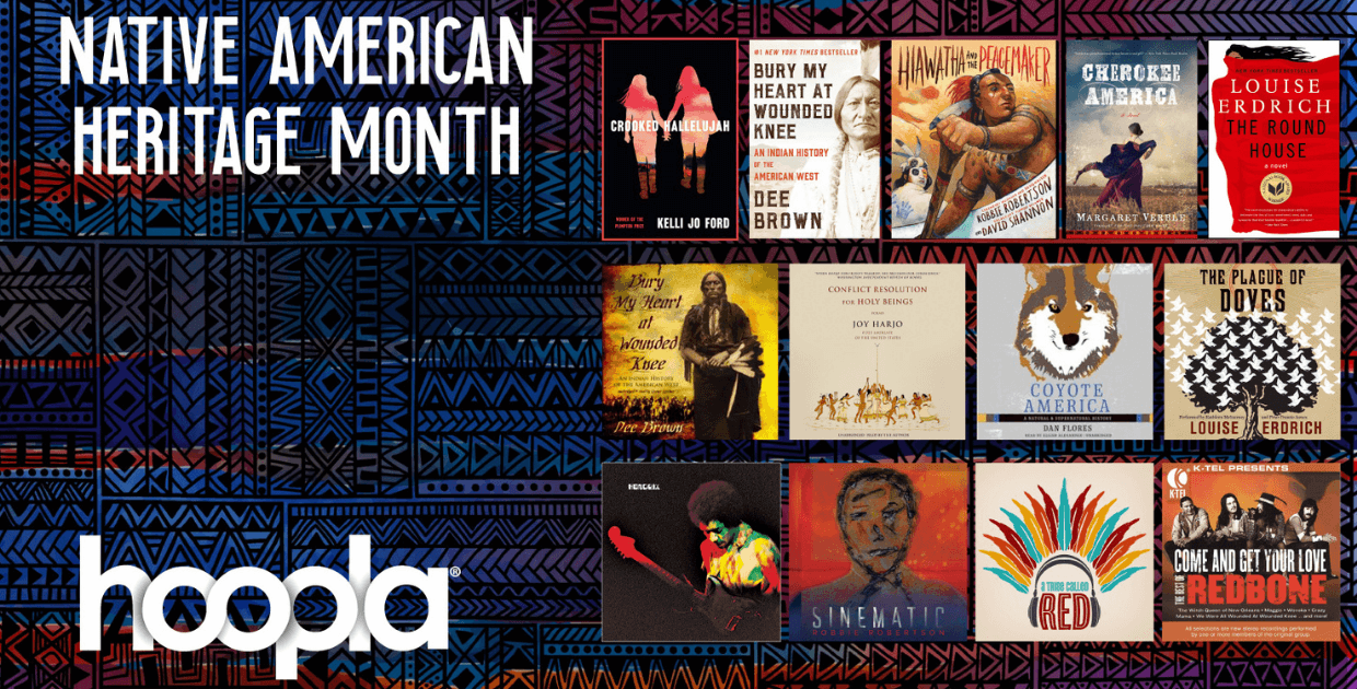 Celebrate Native American Heritage Month with this eBook collection on hoopla